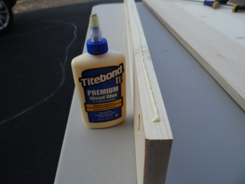 A small bead of wood glue in-between the boards will stregthen the joints.