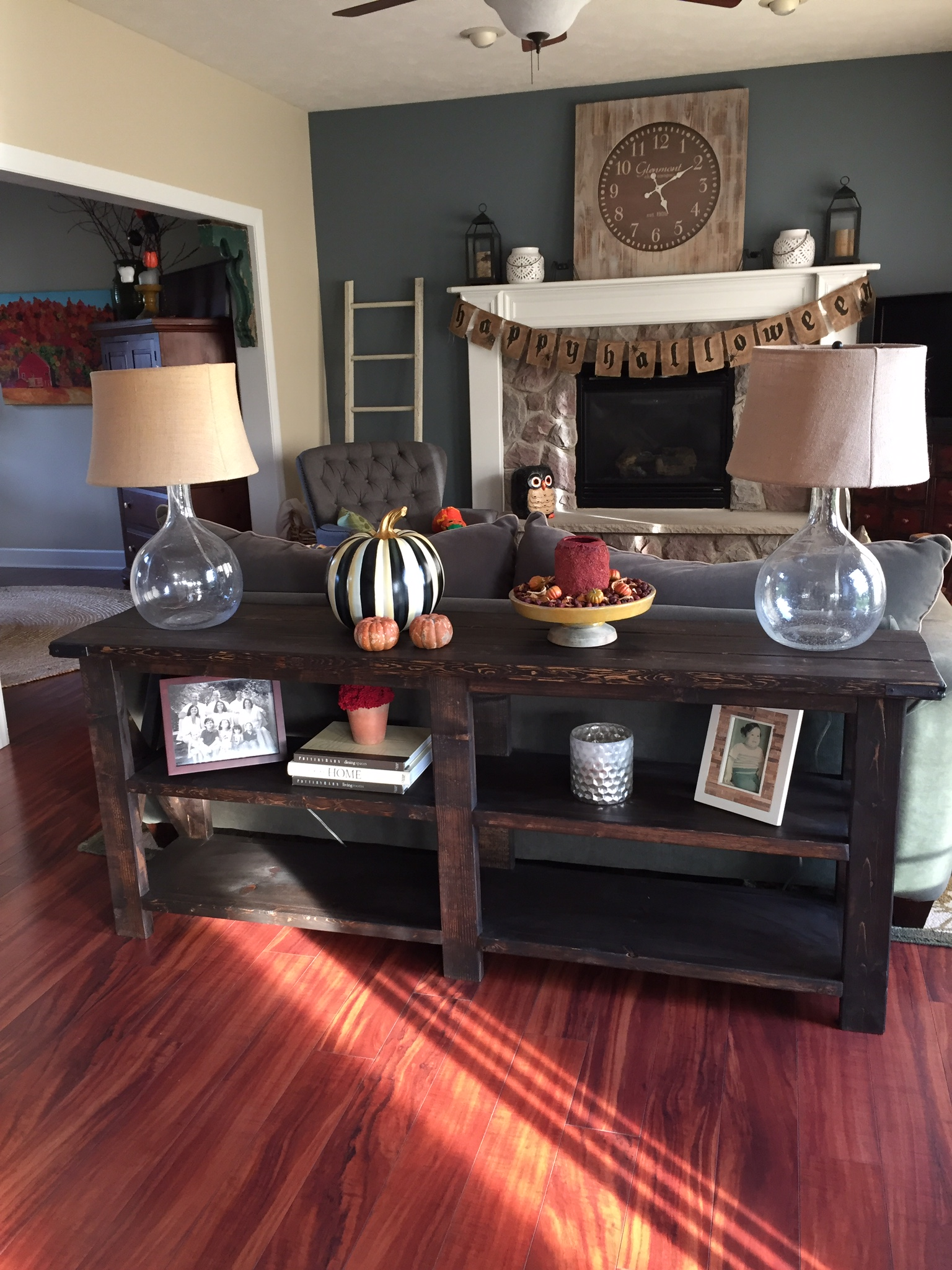 My First Furniture Build All Prettied Up For Fall.