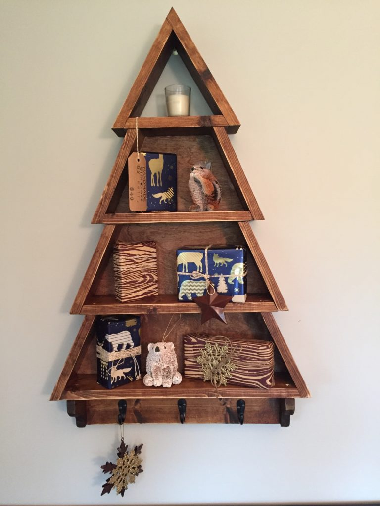Christmas Tree Shelf