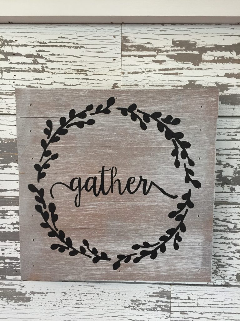 Gather Sentiment Sign